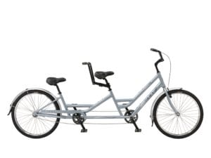Electric-Brickell Tandem 7 Speed, best tandem electric bike canada, best comfortable ebike bc, best Complete Conversion kit 500W