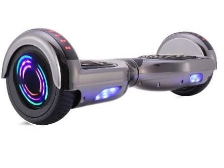 hoverboard in grey