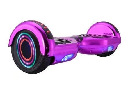 hoverboard in pink