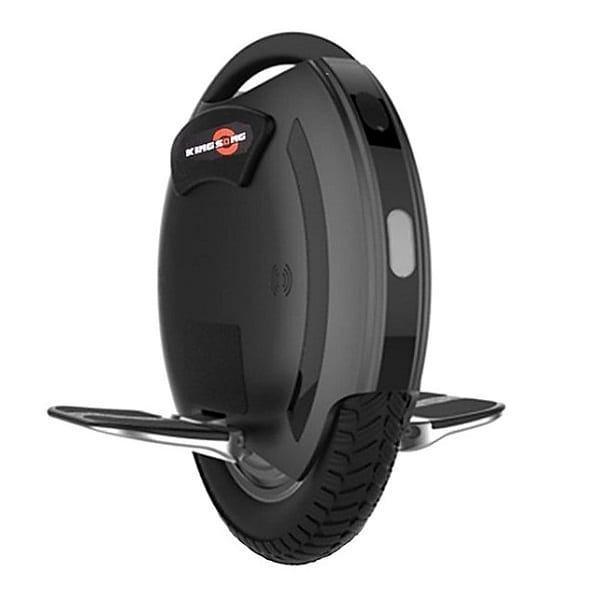 black electric unicycle