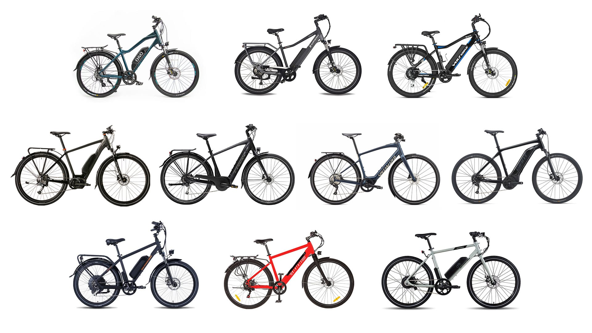 Best urban electric bikes of 2021 header