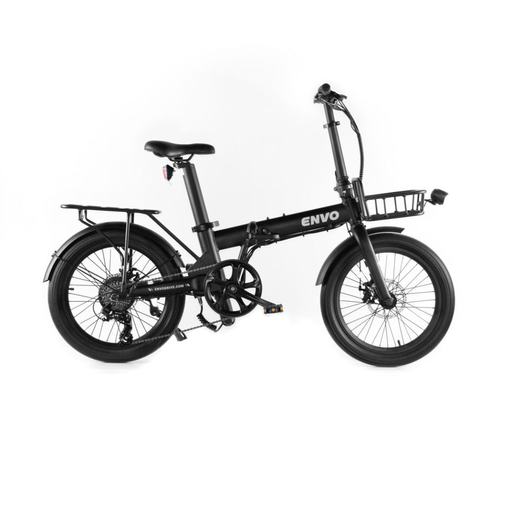 ENVO Lynx-20 Folding Electric Bike Black