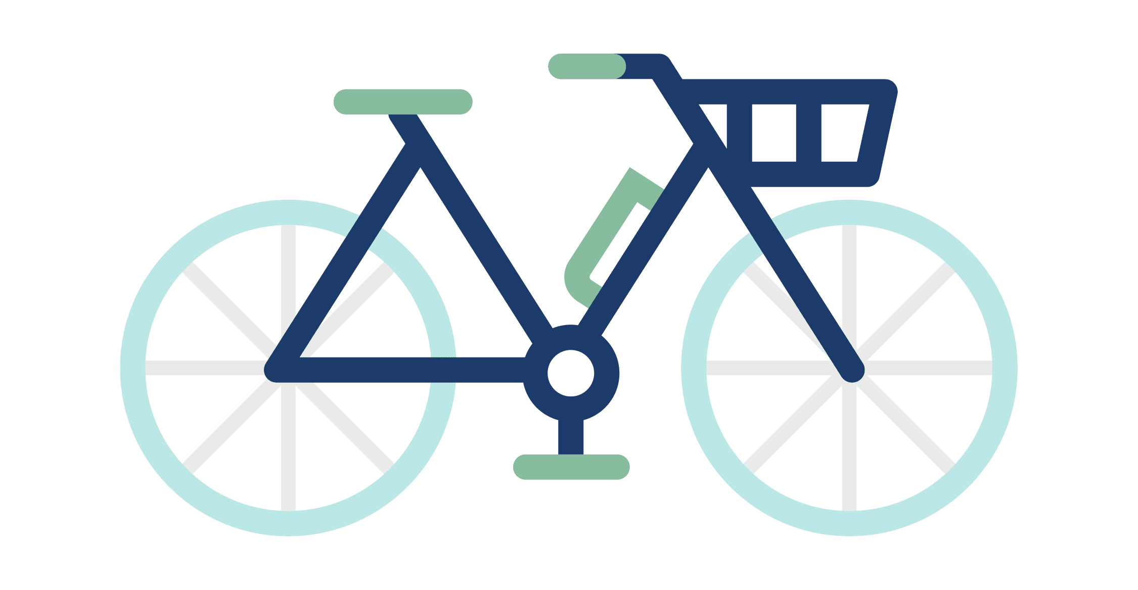 Electric Bike Accessories Icon